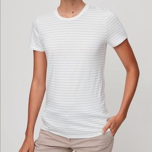 Aritzia striped t shirt
